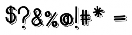 Emmy  Shade Font OTHER CHARS