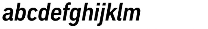 Embarcadero MVB Pro Cond Bold Italic Font LOWERCASE