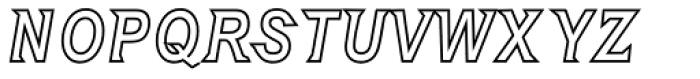 Embargo Obline Font UPPERCASE