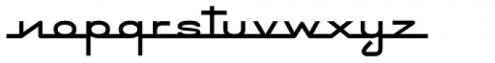 Emblem Chief Font LOWERCASE