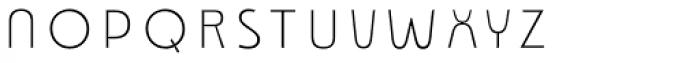 Emblema Fill1 Deco Font LOWERCASE