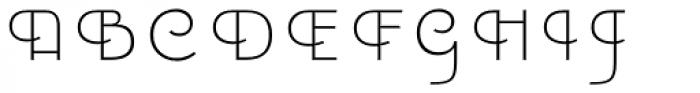 Emblema Fill1 Extraswash Font UPPERCASE
