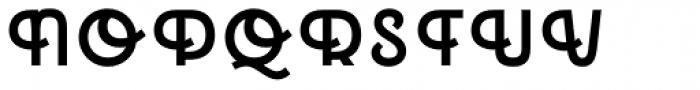 Emblema Headline1 Extraswash Font UPPERCASE