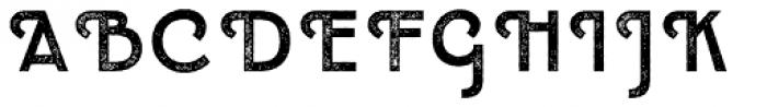 Emblema Headline2 Swash Font UPPERCASE
