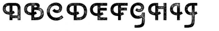 Emblema Headline3 Extraswash Font UPPERCASE
