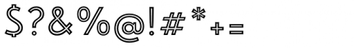 Emblema Inline1 Basic Font OTHER CHARS