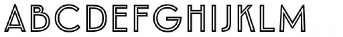 Emblema Inline1 Basic Font UPPERCASE