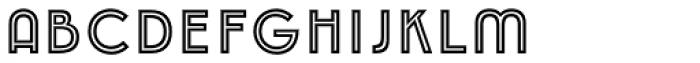 Emblema Inline1 Extraswash Font LOWERCASE