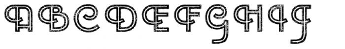 Emblema Inline2 Extraswash Font UPPERCASE