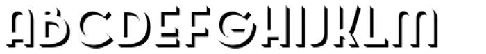 Emblema Shadow1 Deco Font UPPERCASE