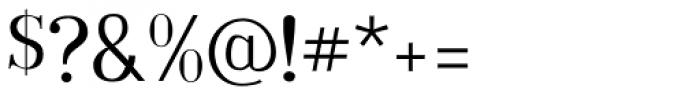 Embossanova Light Font OTHER CHARS
