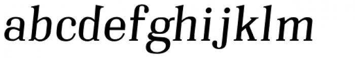 Embossanova Normal Italic Font LOWERCASE