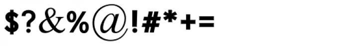 Emda Black MF Font OTHER CHARS