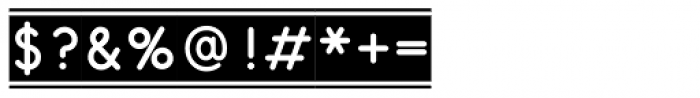 Emedan Font OTHER CHARS