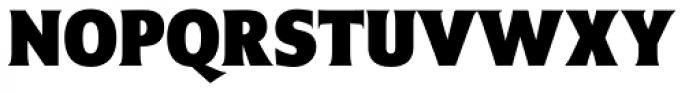 Emeritus Narrow Bold Font UPPERCASE