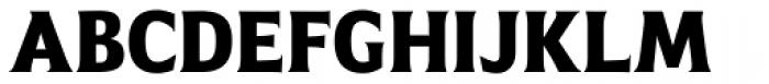 Emeritus Narrow Semibold Font UPPERCASE