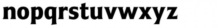 Emeritus Narrow Semibold Font LOWERCASE
