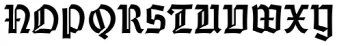 Emilia Gotisch Font UPPERCASE