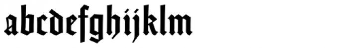 Emilia Gotisch Font LOWERCASE