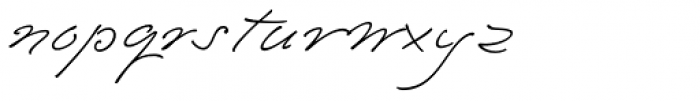 Emily In White III Font LOWERCASE