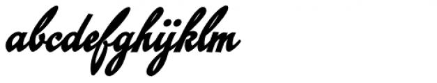 Emiral Script Bold Font LOWERCASE
