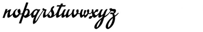 Emiral Script Font LOWERCASE