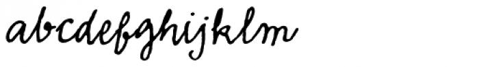 Emmascript MVB Font LOWERCASE