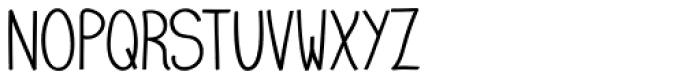 Emmy SemiBold Font UPPERCASE