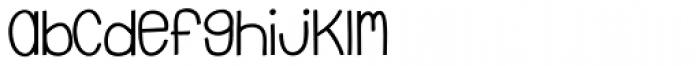 Emmy SemiBold Font LOWERCASE
