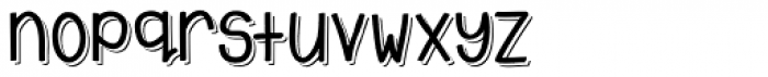 Emmy Shade Font LOWERCASE