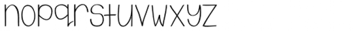 Emmy Swash Font LOWERCASE