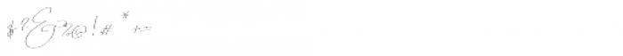 Emmylou Signature Thin Sl Font OTHER CHARS
