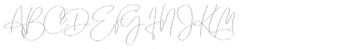 Emmylou Signature Thin Font UPPERCASE