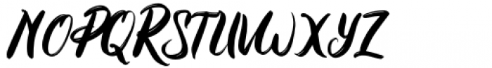 Emphasize Regular Font UPPERCASE