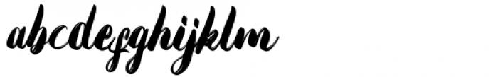 Emphasize Regular Font LOWERCASE