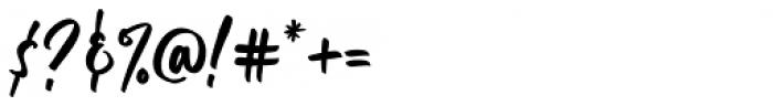 Empires Regular Font OTHER CHARS