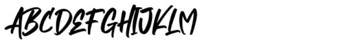 Empires Regular Font UPPERCASE