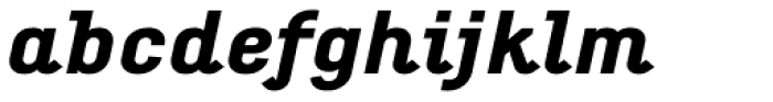 Empirical Five Italic Font LOWERCASE