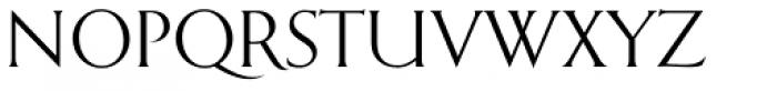 Emporia OT Roman Font UPPERCASE