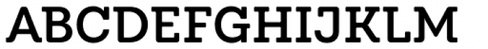 Emy Slab Alt Semi Bold Font UPPERCASE