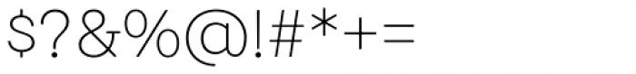 Emy Slab Alt Ultra Light Font OTHER CHARS