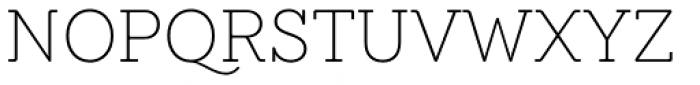 Emy Slab Alt Ultra Light Font UPPERCASE