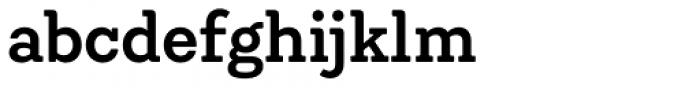 Emy Slab Semi Bold Font LOWERCASE