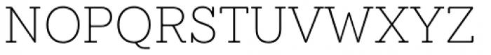 Emy Slab Ultra Light Font UPPERCASE