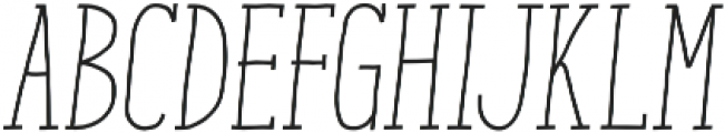ENYO Slab Medium otf (500) Font UPPERCASE