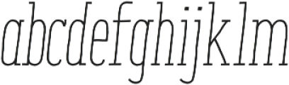 ENYO Slab Medium otf (500) Font LOWERCASE