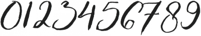 Enchanted Brush otf (400) Font OTHER CHARS