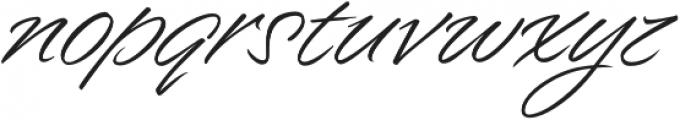 Enchanted otf (400) Font LOWERCASE