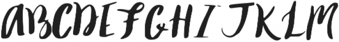 Enchanted_1115_OTF otf (400) Font UPPERCASE