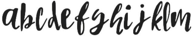 Enchanted_1115_OTF otf (400) Font LOWERCASE